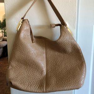 Tan Hobo bag